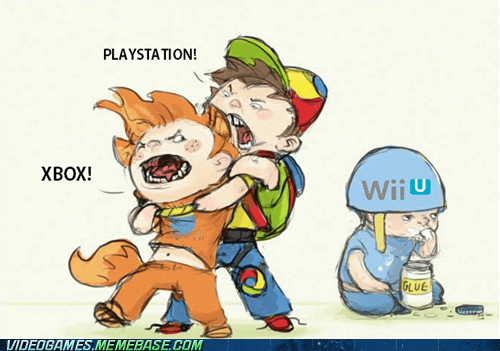 console wars,consoles,flamewars,playstation,the internets,wii U,xbox