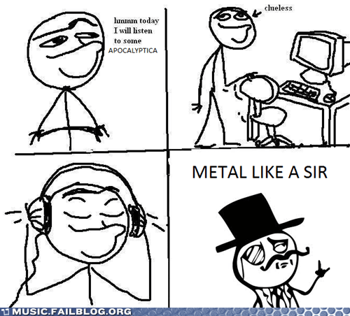 comic metal today i will listen to x - 6311398912