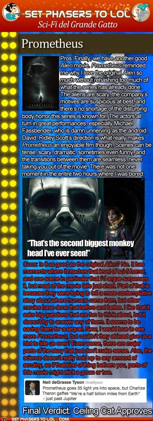 alien cinema grande gatto Neil deGrasse Tyson News and Reviews Noomi Rapace prometheus review Ridley Scott - 6311467776