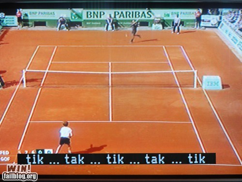 closed caption sound effect sports tennis