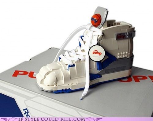 crazy shoes lego legos reeboks sneakers - 6311635456