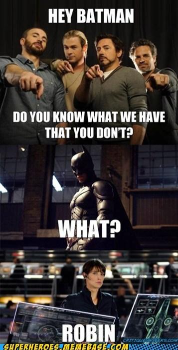 aunt robin,avengers,batman,shield,superheroes,Super-Lols