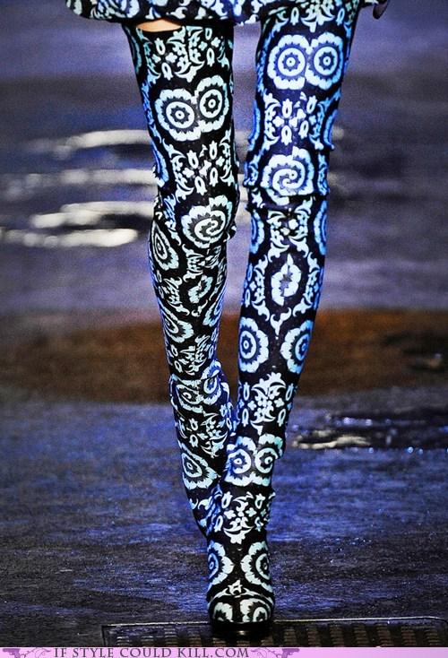cool accessories leggings runway tights - 6311706368