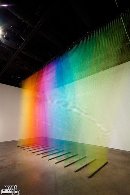 art,design,installation,pretty colors,thread