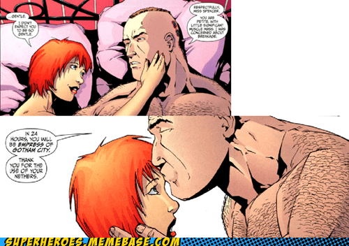bane lady sexy times Straight off the Straight off the Page - 6311980544