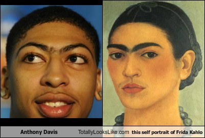 anthony davis frida kahlo funny TLL - 6312031232