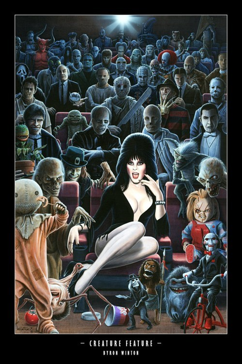 best of week Fan Art fandom horror movies scary scifi villains - 6312511232
