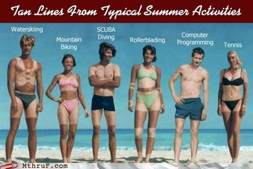 computer programming,Hall of Fame,summer,summertime,tan,typical summer activities