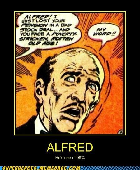 alfred batman bruce wayne no money pension Super-Lols - 6313241344