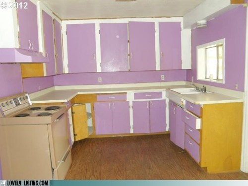 cabinets kitchen lavender purple - 6313525504