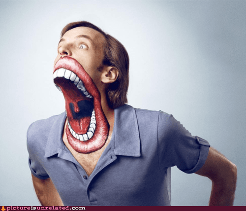 mouth OPEN WIDE paint wtf - 6313898240