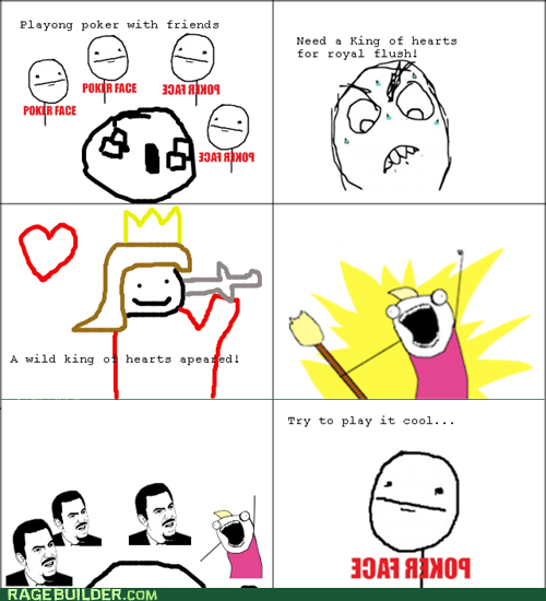 all the things,poker,poker face,Rage Comics