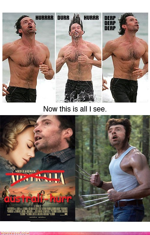 actor celeb derp funny hugh jackman meme shoop - 6314765312