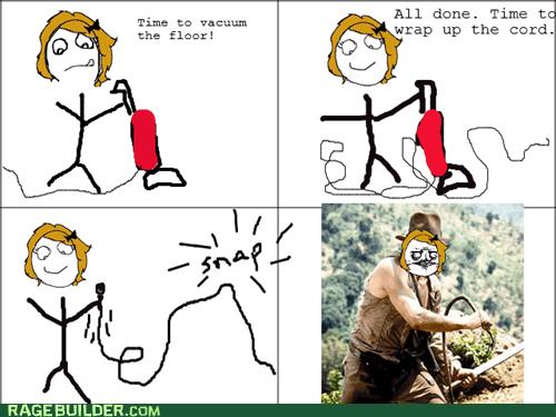 chores Indiana Jones me gusta Rage Comics whip - 6314996992