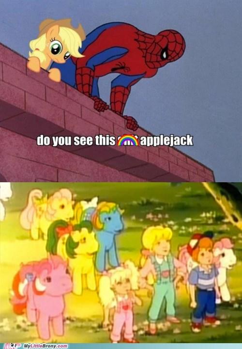 applejack Bronies gen 1 Spider-Man TV - 6315354368