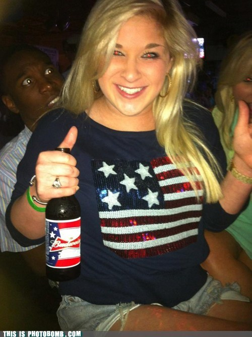budweiser club Good Times hanging out Party white girl - 6315797504