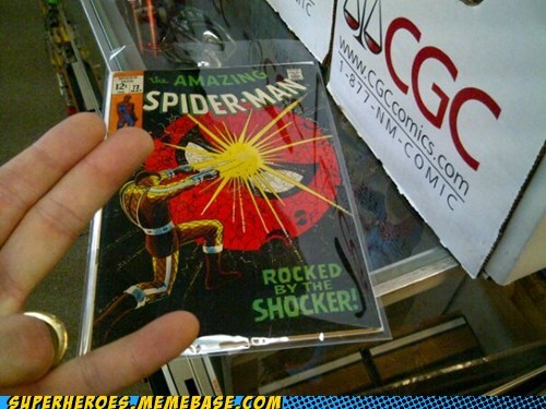 comic shocker Spider-Man Straight off the Straight off the Page - 6315817216
