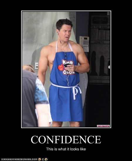 CONFIDENCE This is what it looks like