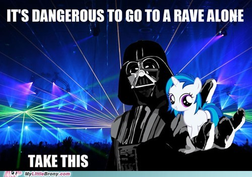 bass,dangerous to go alone,dj PON-3,meme,rave
