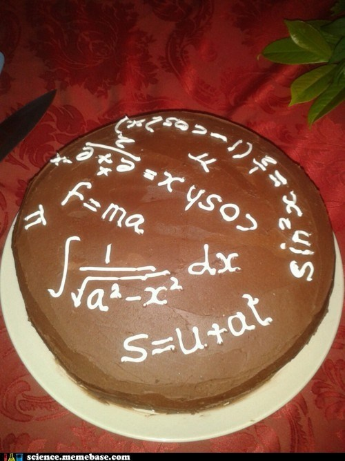 cake,math,nerds,physics,science