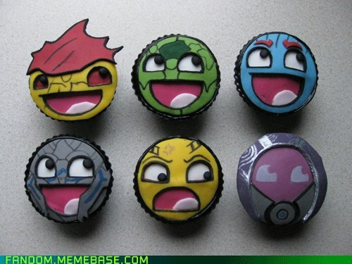 cupcakes,Fan Art,lol,mass effect,Memes,noms,video games