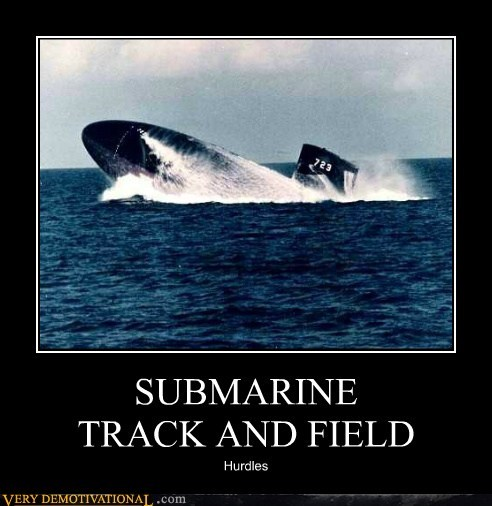 SUBMARINE TRACK AND FIELD Hurdles