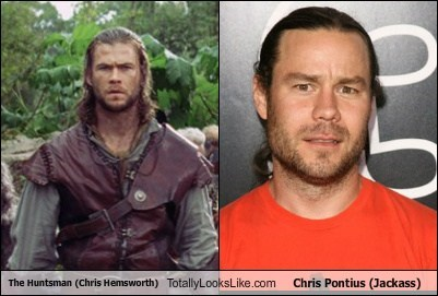 actor,celeb,chris hemsworth,chris pontius,funny,Hall of Fame,TLL