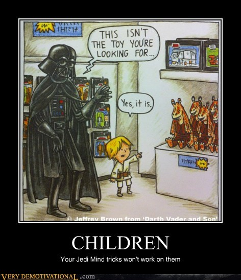 children comic mind trick Pure Awesome star wars