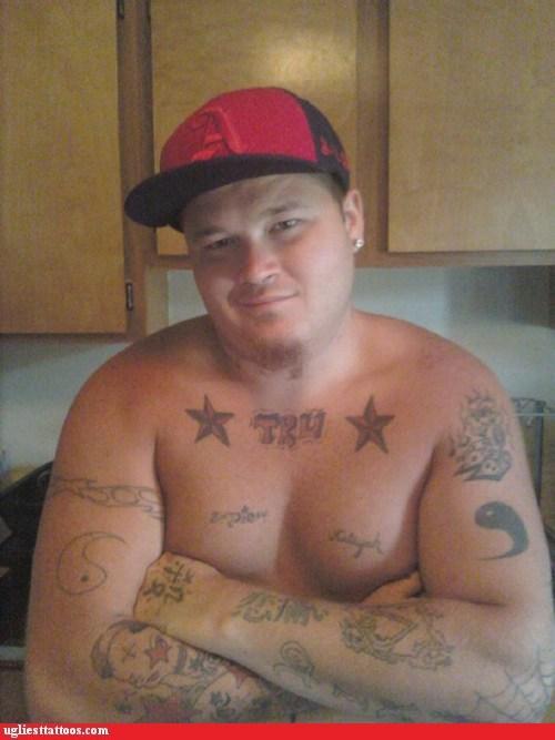 lots of tattoos TRU yin yang - 6319086592