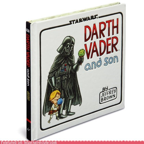 book kid Luke star wars vader