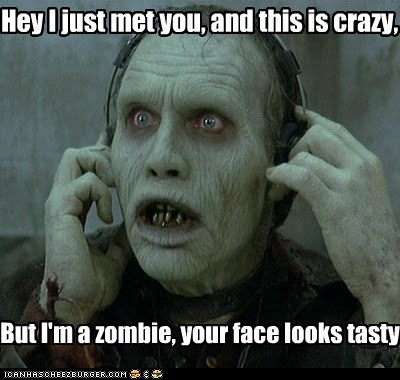 call me maybe carly rae jepsen face zombie - 6319136512