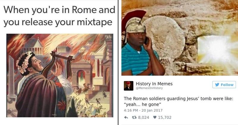 ancient rome ancient rome memes history memes geeky memes ancient roman memes seize the day carpe diem memes about ancient rome nerdy memes remus romulus jesus christ julius caesar ancient greece trireme roman artwork classical art memes Gladiator - 6319365