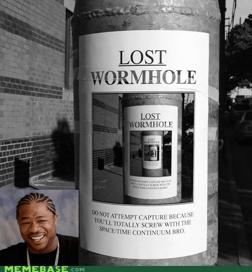 lost poster troll wormhole yo dawg - 6319613696