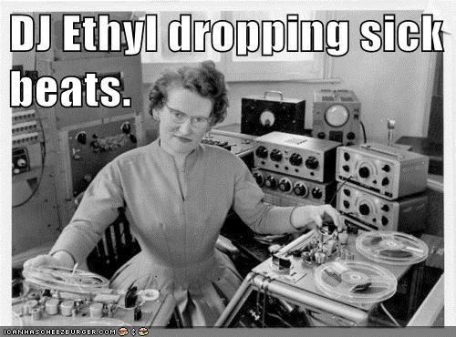 dj lady reel to reel tapes vintage - 6319713792