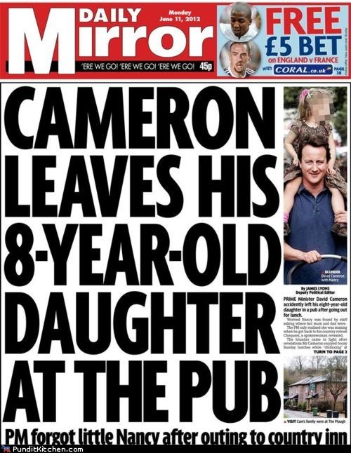 david cameron parents political pictures