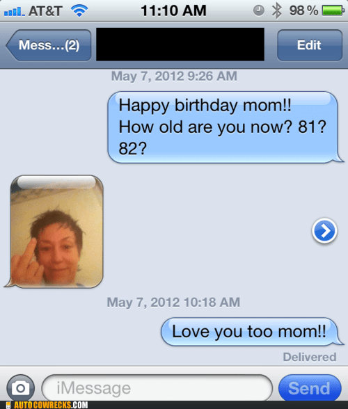 iPhones,moms-birthday,parents,sick burn