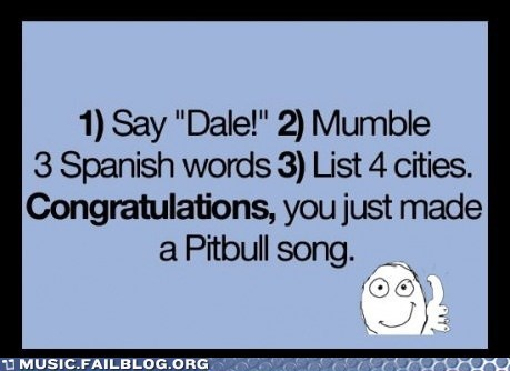 dale pitbull pop spanish - 6320550656