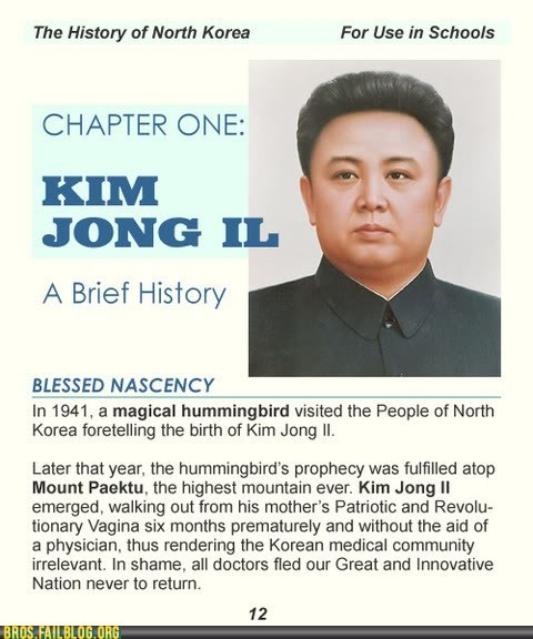 bros,history,Kim Jong-Il,korea,North Korea