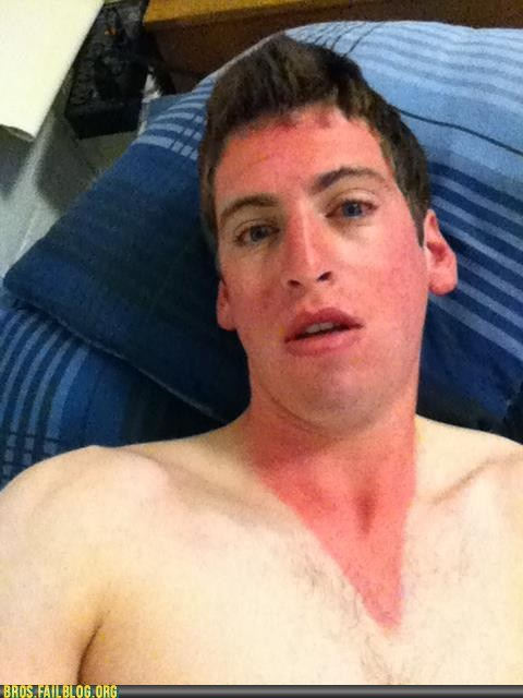 bros,g rated,sunburn,tan,v neck