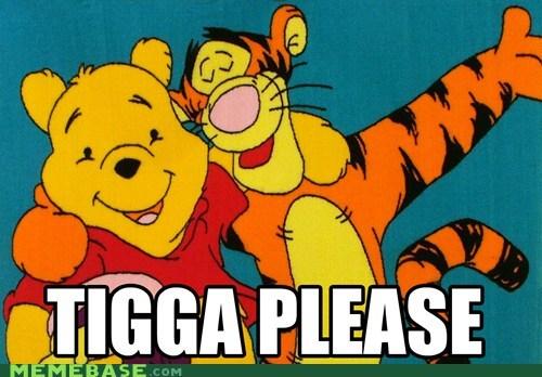 disney,Memes,pooh,race,tigga