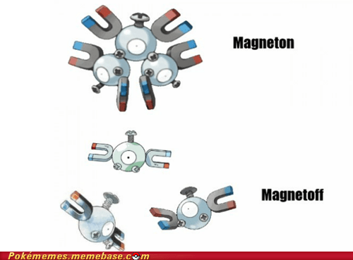 evolution,magnemite,magneton,meme,Memes,on and off