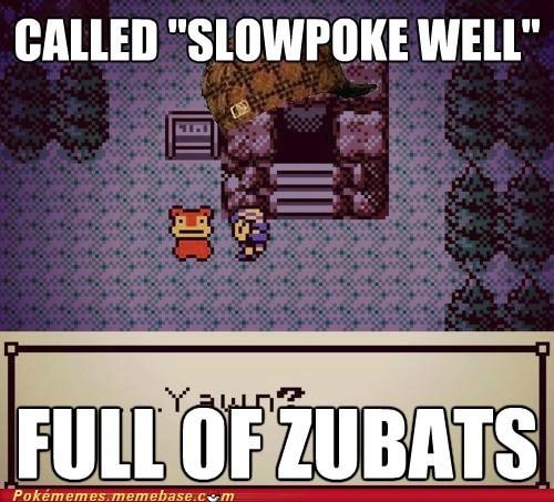 cave,meme,Memes,scumbag,slowpoke well,zubats