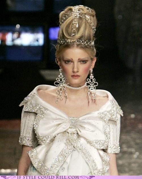 cool accessories Dior hair runway - 6320794624