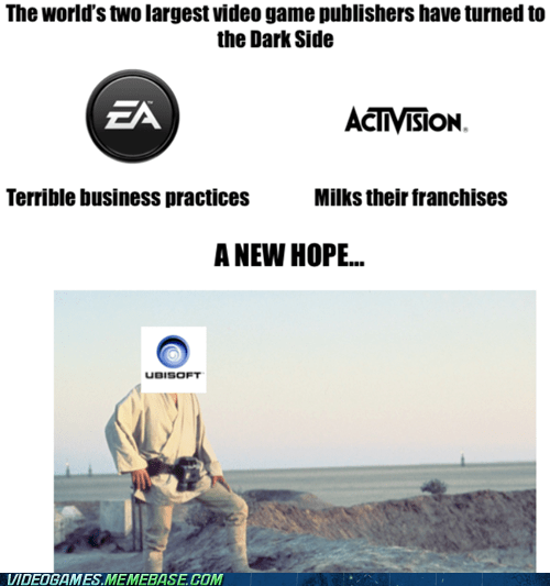 A New Hope,activision,EA,star wars,the feels,Ubisoft