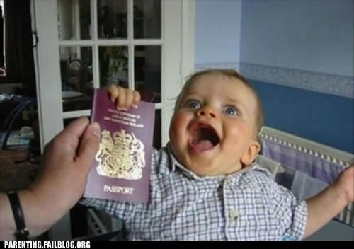 baby,happy,passport