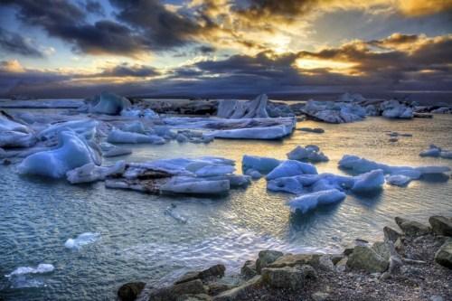glacier ice Iceland ocean - 6320915968