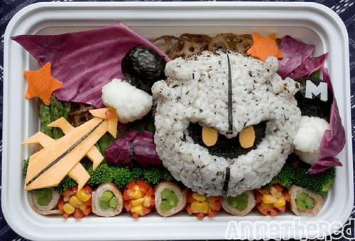 bento Fan Art kirby meta knight noms video games