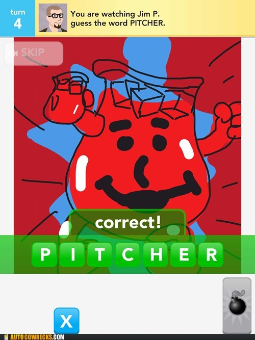 draw something,kool aid,oh-yea,pitcher