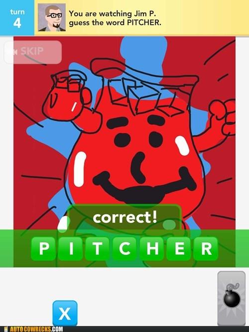 draw something kool aid oh-yea pitcher - 6320956416