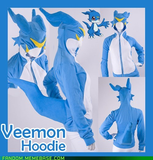anime cartoons clothes digimon Fan Art hoodie - 6320961280